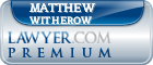 Matthew D. Witherow  Lawyer Badge