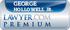 George F Hollowell Jr.  Lawyer Badge