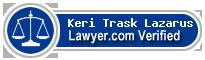 Keri Trask Lazarus  Lawyer Badge