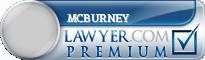 McBurney  Lawyer Badge