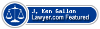 J. Ken Gallon  Lawyer Badge