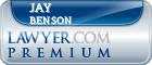 Jay Benson  Lawyer Badge