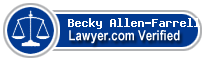 Becky Allen-Farrell, PLLC  Lawyer Badge