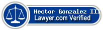 Hector Gonzalez III  Lawyer Badge