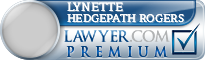 Lynette Hedgepath Rogers  Lawyer Badge