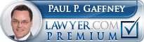 Paul Gaffney Lawyer Badge