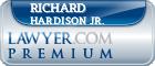 Richard E. Hardison Jr.  Lawyer Badge