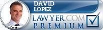 David J Lopez  Lawyer Badge