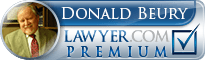 Donald Beury  Lawyer Badge
