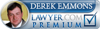 Derek Emmons Lawyer Badge
