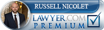 Russell D. Nicolet  Lawyer Badge