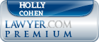 Holly Cohen  Lawyer Badge