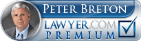 Peter L. Breton  Lawyer Badge