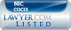 Nic Cocis Lawyer Badge