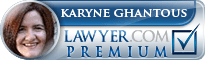 Karyne Therese Ghantous  Lawyer Badge