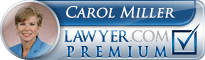 Carol Vincent Miller  Lawyer Badge