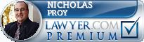 Nicholas B Proy  Lawyer Badge