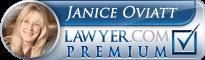 Janice P. Oviatt  Lawyer Badge