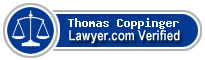Thomas P. Coppinger  Lawyer Badge