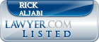 Rick Aljabi Lawyer Badge