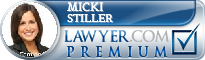 Micki Beth Stiller  Lawyer Badge