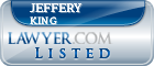 Jeffery King Lawyer Badge