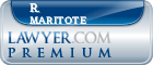R. Mark Maritote  Lawyer Badge