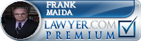 Frank J. Maida  Lawyer Badge