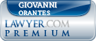 Giovanni Orantes  Lawyer Badge