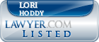 Lori Hoddy Lawyer Badge