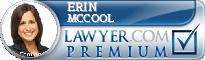 Erin C. McCool  Lawyer Badge