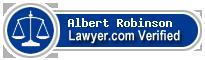 Albert S. Robinson  Lawyer Badge