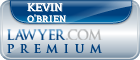 Kevin Patrick O'Brien  Lawyer Badge
