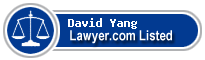 David Yang Lawyer Badge