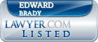 Edward Brady Lawyer Badge