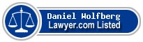 Daniel Wolfberg Lawyer Badge