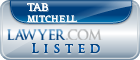Tab Mitchell Lawyer Badge