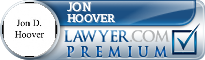 Jon D. Hoover  Lawyer Badge