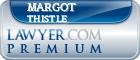 Margot Rose Thistle  Lawyer Badge