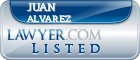 Juan Alvarez Lawyer Badge