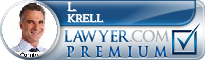 L. James Krell  Lawyer Badge