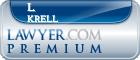 L. James Krell  Lawyer Badge