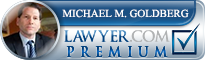 Michael M. Goldberg  Lawyer Badge