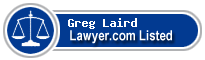 Greg Laird Lawyer Badge