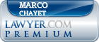Marco Chayet  Lawyer Badge