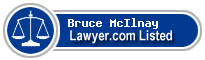 Bruce McIlnay Lawyer Badge