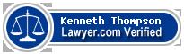 Kenneth Knight Thompson  Lawyer Badge