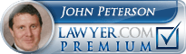 John Peterson Lawyer Badge