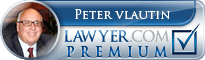 Peter P. Vlautin III  Lawyer Badge