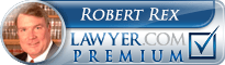 Robert H. Rex  Lawyer Badge